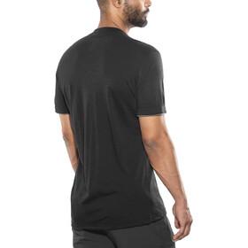 Aclima LightWool Henley Shirt Herr jet black/iron gate